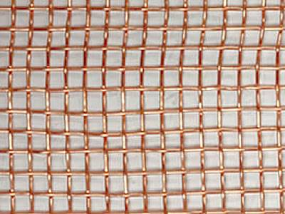 Coarse wire mesh with 4 openings per inch