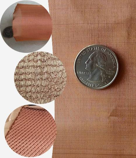 Three kinds of copper meshes, they are woven copper mesh, knitted copper and expanded copper mesh.
