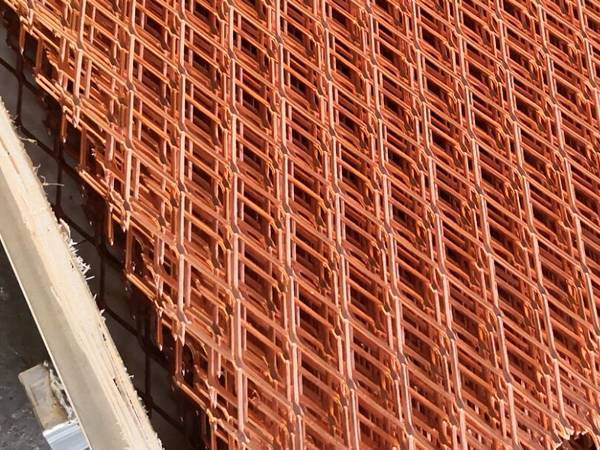 Copper Mesh Used For Garden Pest Control And Rodent Exclusion